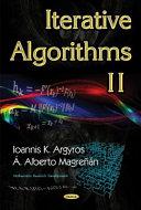 Iterative Algorithms 2 Book PDF
