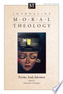 Journal Of Moral Theology Volume 9 Number 1
