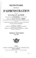 Dictionnaire général d'administration