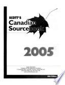 Scott's Canadian Sourcebook