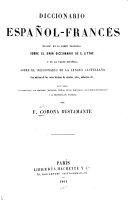 Diccionario español-francés [y francés-español]