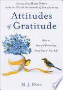 Attitudes Of Gratitude PDF