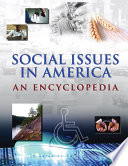 """Social Issues in America: An Encyclopedia"" by James Ciment"
