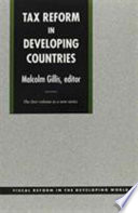 Tax Reform In Developing Countries