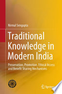 Traditional Knowledge in Modern India