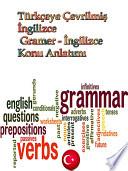Türkçeye Çevrilmiş İngilizce Gramer - İngilizce Konu Anlatımı
