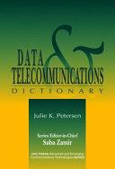Data   Telecommunications Dictionary Book