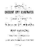 CRESENT CITY ILLUSTRATED