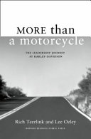 More Than a Motorcycle