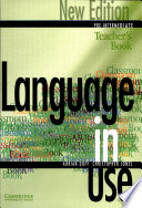 """Language in Use Pre-Intermediate New Edition Teacher's Book"" by Adrian Doff, Christopher Jones"