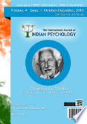 The International Journal Of Indian Psychology Volume 4 Issue 1 No 80