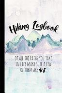 Hiking Logbook
