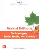Annual Editions  Technologies  Social Media  and Society