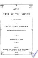 Orr S Circle Of The Sciences Inorganic Nature Geology Mineralogy And Crystallography