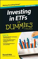Investing in ETFs For Dummies Pdf/ePub eBook