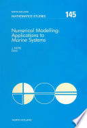 Numerical Modelling  Applications to Marine Systems