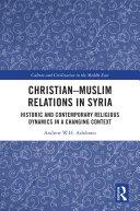 Christian–Muslim Relations in Syria [Pdf/ePub] eBook