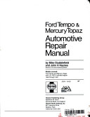 Ford Tempo and Mercury Topaz