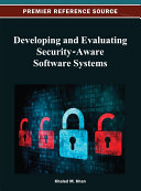 Pdf Developing and Evaluating Security-Aware Software Systems Telecharger