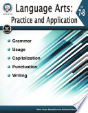 Language Arts Practice And Application Grades 7 8