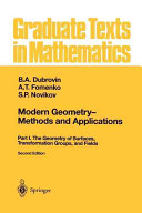 Modern Geometry — Methods and Applications
