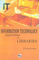 Information Technology Applications In Libraries Book PDF