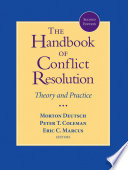 The Handbook Of Conflict Resolution Book PDF