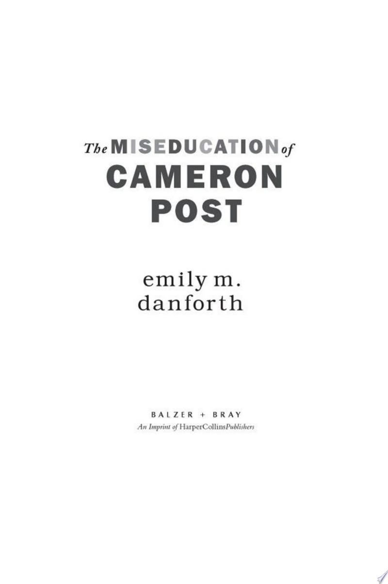 The Miseducation of Cameron Post banner backdrop