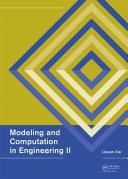 Modeling and Computation in Engineering II