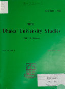 The Dhaka University Studies