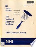 Course Catalog Book