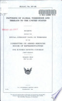 Patterns of Global Terrorism and Threats to the United States