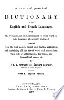A New and Practical Dictionary of English and French Languages