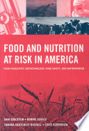 Food And Nutrition At Risk In America Book PDF
