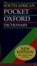The South African Pocket Oxford Dictionary of Current English Book PDF
