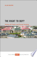 The Right to Buy? Selling off Public and Social Housing