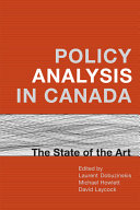 Policy Analysis in Canada