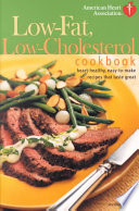 Low-fat, Low-cholesterol Cookbook
