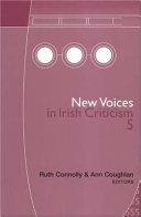 New Voices in Irish Criticism 5 Book