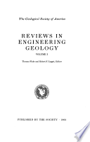 Reviews in Engineering Geology