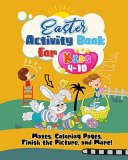 Easter Activity Book for Kids 4 10 Book
