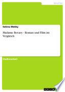 Madame Bovary - Roman und Film im Vergleich