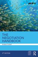 The Negotiation Handbook Pdf/ePub eBook