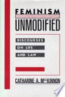 Feminism Unmodified Book PDF