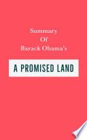 Summary of Barack Obama s A Promised Land