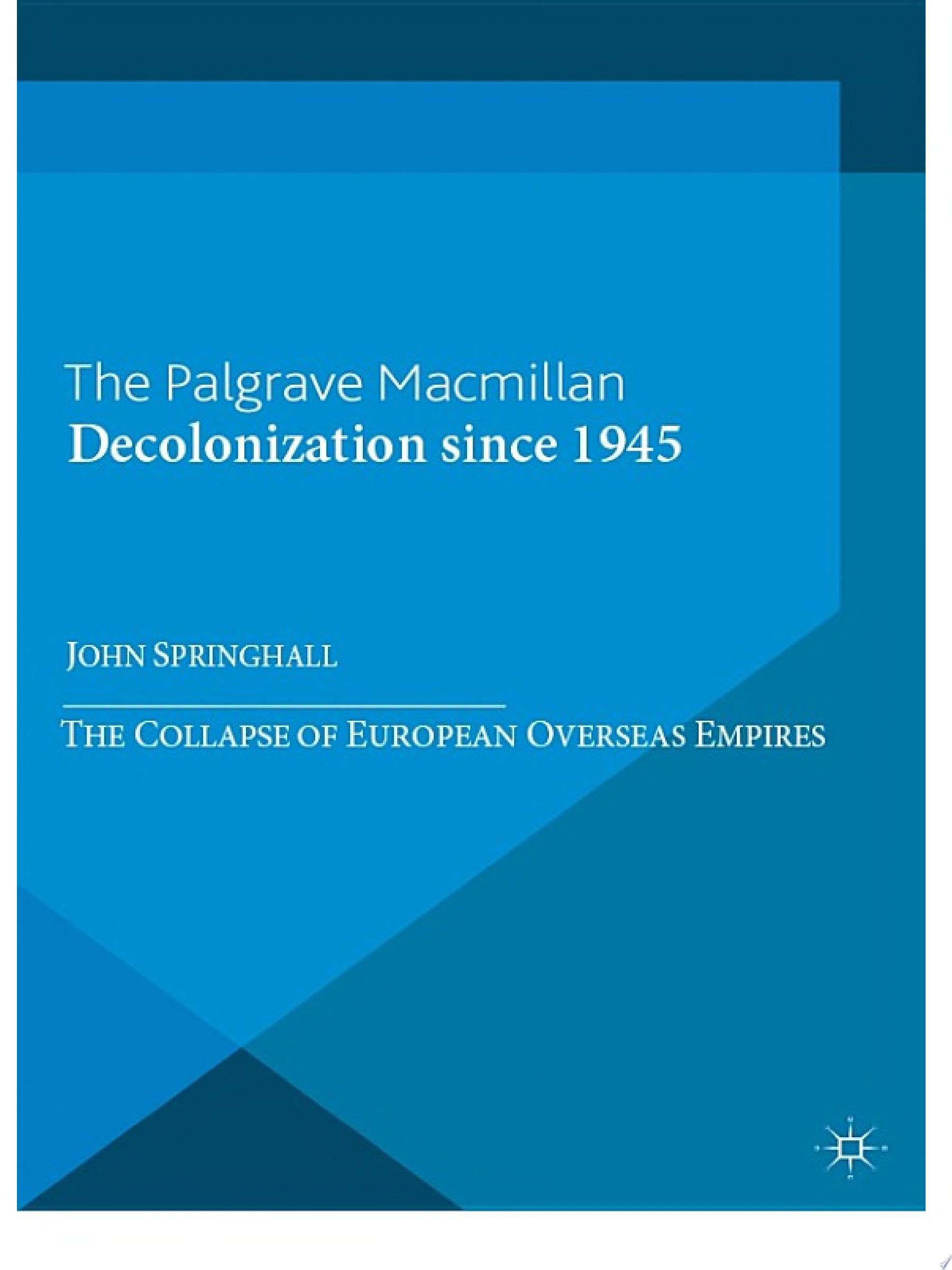 Decolonization since 1945