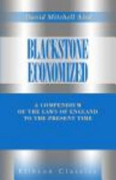 Read Online Blackstone Economized For Free