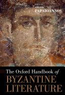 The Oxford Handbook of Byzantine Literature Pdf/ePub eBook