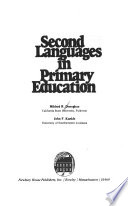 Second Languages in Primary Education