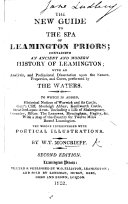 Pdf The New Guide to the Spa of Leamington Priors. ... To which is Added, Historical Notices of Warwick and Its Castle ... Second Edition